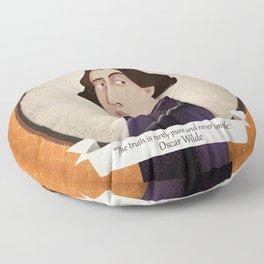 Oscar Wilde said... Floor Pillow