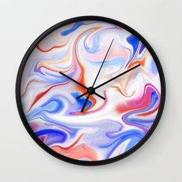 Liquid 1 Wall Clock