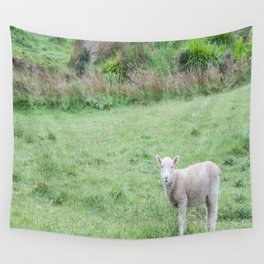 'Sup - Lamb in New Zealand Wall Tapestry