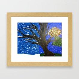 Season's around Me Framed Art Print