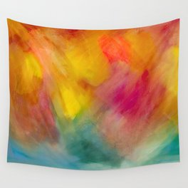 Changing Before My Eyes Wall Tapestry