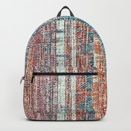 Abstract background textile Backpack