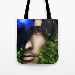 When He looked into Paradise - It was Midnight Fx  Tote Bag