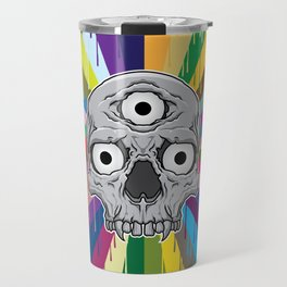 3 Eyed Jackass Travel Mug