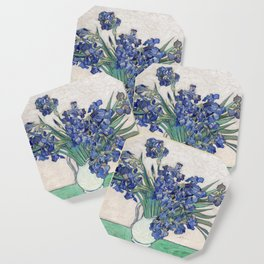 Van Gogh, Irises, 1888 Coaster