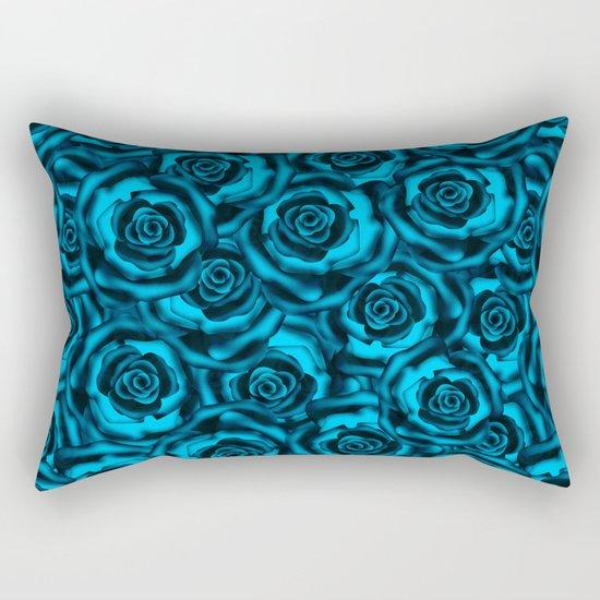Rose   blue, blue... Rectangular Pillow