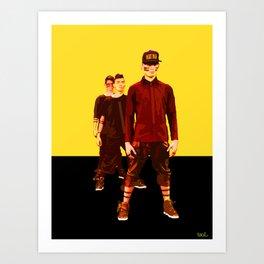 DOPE ART Art Print