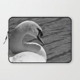 Sunning Swan by Teresa Thompson Laptop Sleeve