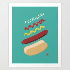 HUT DUG Art Print
