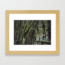 The Beast's Many Tails Framed Art Print
