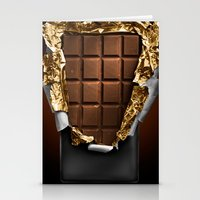 chocolate Stationery Cards featuring chocolate by bbay