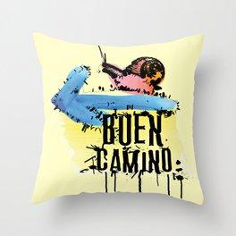 Buen Camino Throw Pillow