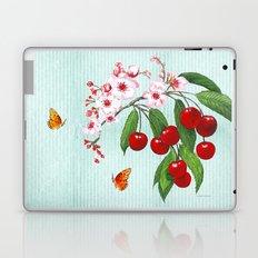 Cherries on Vintage  Laptop & iPad Skin