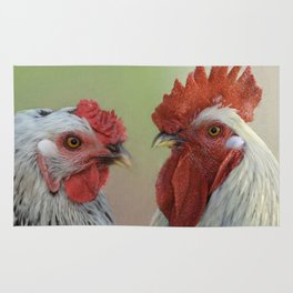 Hen & Rooster Rug