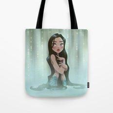 Waterfall Mermaid Tote Bag