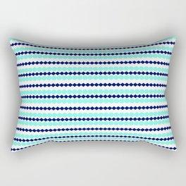 Chatons bleu Rectangular Pillow