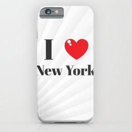 Greetings from N.Y.C.  iPhone Case