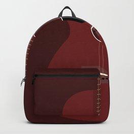 Acoustic Guitar Illustration Backpack