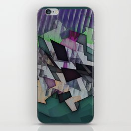 Storm over the country iPhone Skin