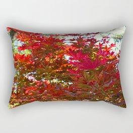 A Fiery Breeze Rectangular Pillow