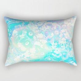 Floral Dream Pastel Hologram Rectangular Pillow