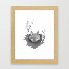 Wolf Baptism Framed Art Print
