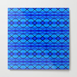 Blue Crush Metal Print