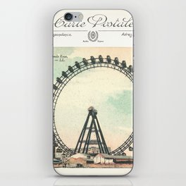 Paris Postcard #1 by Murray Bolesta iPhone Skin