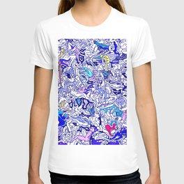 Kamasutra LOVE - Indigo Blue T-shirt