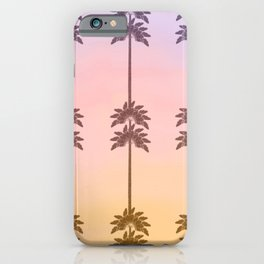 Palm Tree Sunrise  iPhone Case