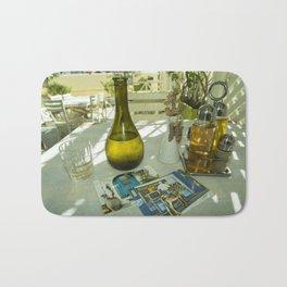 Postcards from Crete Bath Mat