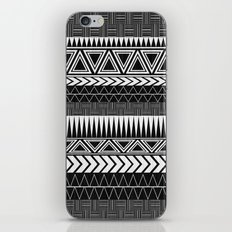 Tribal Monochrome. iPhone Skin
