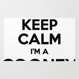 I cant keep calm I am a COONEY Rug