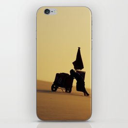 Up the hill iPhone Skin