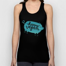 Happy Vegan Unisex Tank Top