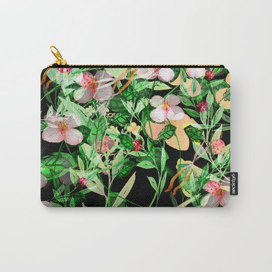 Garden Frenzy Night Carry-All Pouch