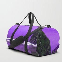 Oregon Coast Abstract Duffle Bag
