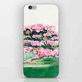Pink Bonsai iPhone Skin
