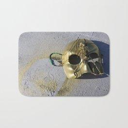 Gold Skeleton Mask, No. 1 Bath Mat