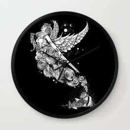 The Night Before the Battle Wall Clock
