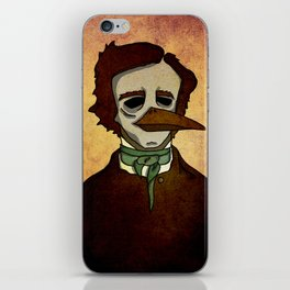Prophets of Fiction - Edgar Allan Poe /The Raven iPhone Skin