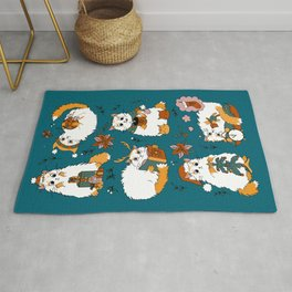 Christmas cats Rug