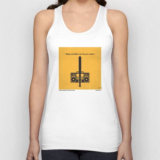 No179 My Do the right thing minimal movie poster Unisex Tank Top