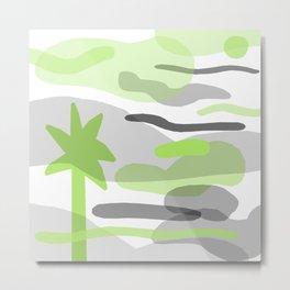 Palm Fade Metal Print