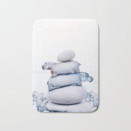 Tiny Hippos Bath Mat