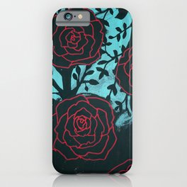 Rose Garden iPhone Case