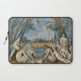 Paul Cezanne - The Large Bathers Laptop Sleeve