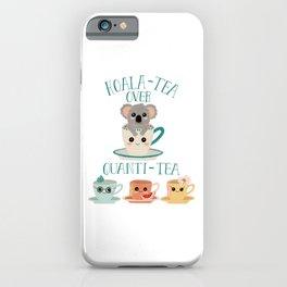 Koala-Tea iPhone Case