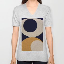 Aimlessly in Circles - Tear Unisex V-Neck