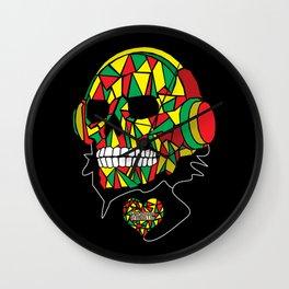 My Music Sounds Like Reggae Wall Clock